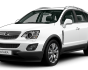 Opel Antara Summit White